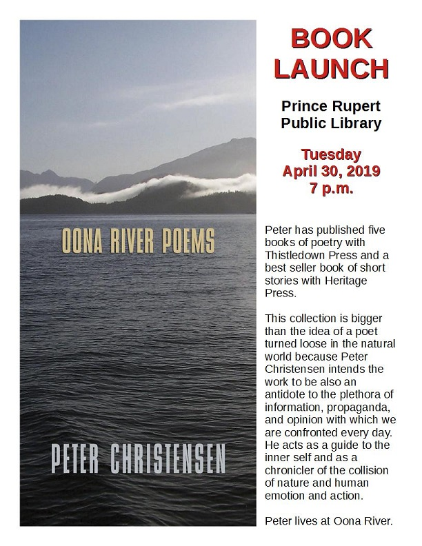 Oona River Poems with Peter Christensen