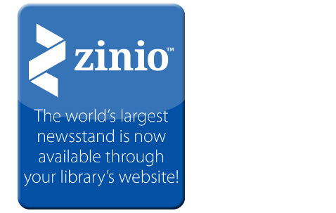 Read Magazines with PRL and Zinio!