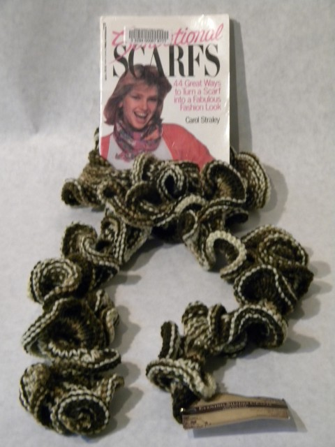 Knitting Patterns For Girls Cardigans : 16. Knitted Curly Scarf Prince Rupert Library